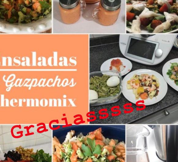 CLASE DE ENSALADAS Y GAZPACHOS!!!
