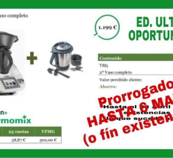OFERTA PRORROGADA HASTA EL DIA 6!