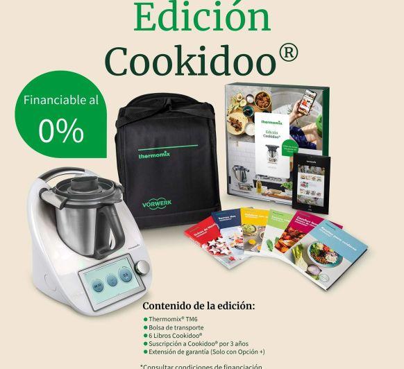 PROMOCION ESPECIAL Thermomix® EDICION COOKIDOO 0%