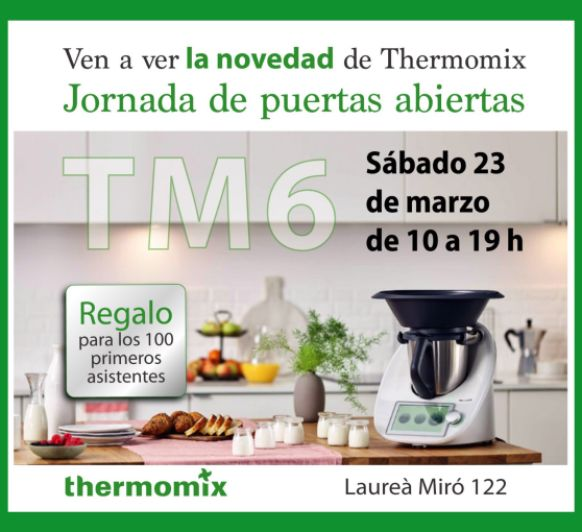 PUERTAS ABIERTAS Thermomix®