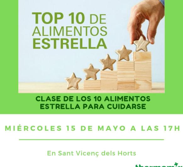CLASE DE COCINA _ TOP 10 EN ALIMENTOS ESTRELLA