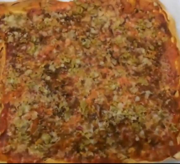 PIZZA (sin carne)