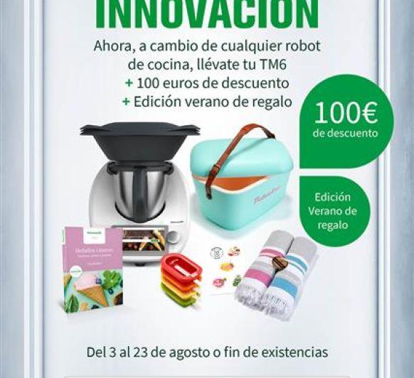 Últimos días 100 Euros de descuento en la compra de tu Thermomix® !!