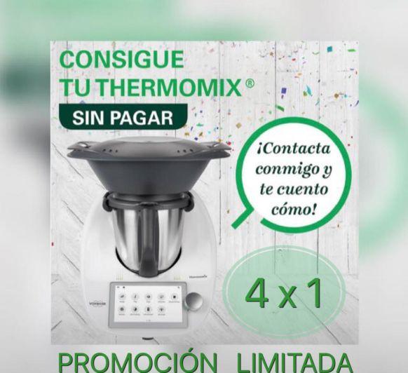 Thermomix® SIN PAGAR!!! (4x1)