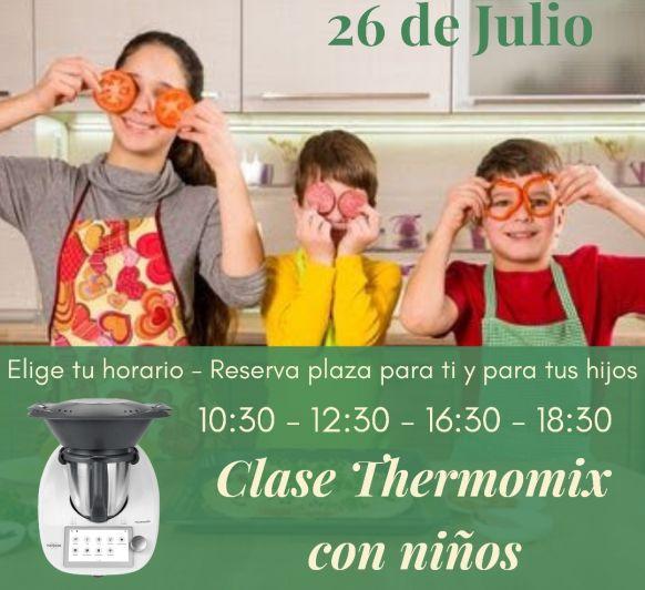 CLASE Thermomix® CON NIÑOS