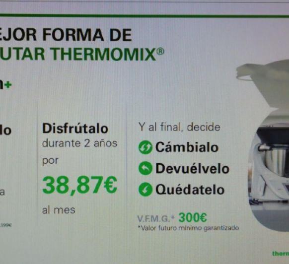 OPCIÓN + LA MEJOR FORMA DE DISFRUTAR LA Thermomix®
