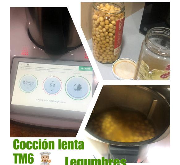 Cocción lenta - legumbres