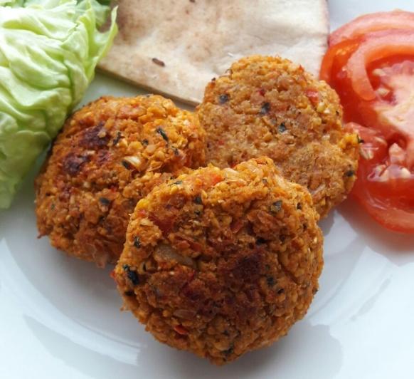 FALAFEL al horno (UNA VERSIÓN LIGERA Y SANA DE UN CLÁSICO) para vegetarianos!