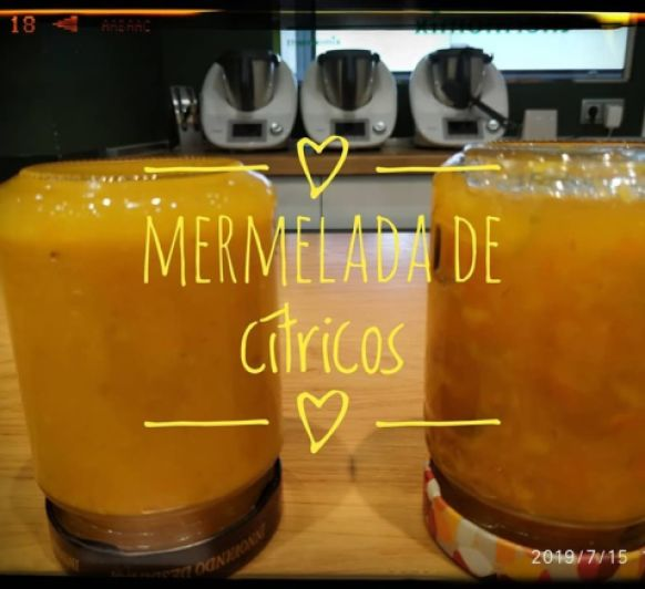 MERMELADA Y REFRESCO DE CITRICOS Thermomix®