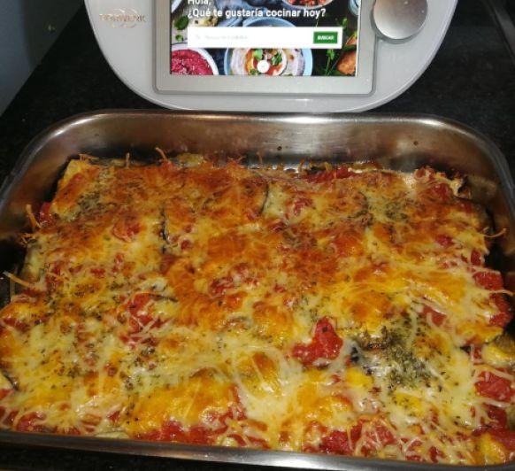 Berenjena a la pizzaiola
