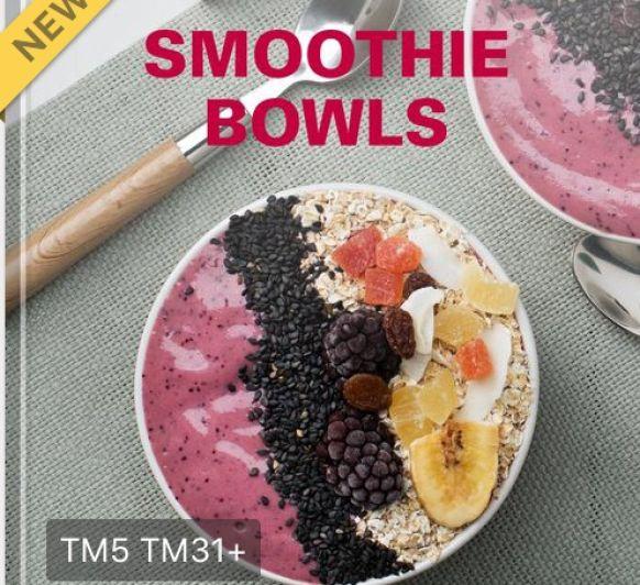 Los nuevos Smoothie bowls